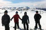 Melba Copland Secondary School Students Enjoy Snow Camp