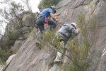 Melba Copland Secondary School Students Enjoy Rock Climbing